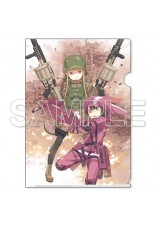 Sword Art Online Alternative Gun Gale Online Clear File Holder [3]